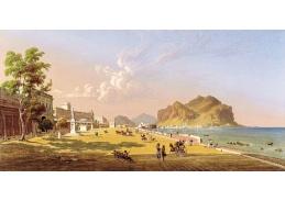 VU188 Robert Salmon - Pohled na Palermo