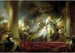 SO XIV-343 Jean-Honoré Fragonard - Oběť z Caliroe