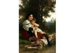 D-8092 William Adolphe Bouguereau - Odpočinek