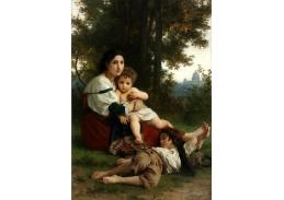 D-8092 William Adolphe Bouguereau - Odpočinek