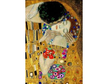 VR3-113 Gustav Klimt - Polibek, detail