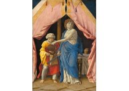 XV-117 Andrea Mantegna - Judith s hlavou Holoferna