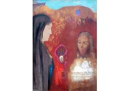 A-363 Odilon Redon - Kristus a Samaritánka