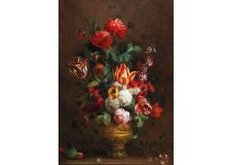 DDSO-4404 Jacob Bogdány - Zátiší s květinami a papouškem