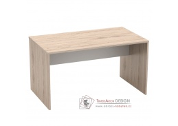RIOMA 11, psací stůl, dub san remo / bílá