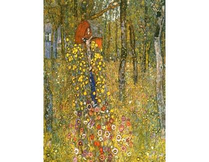 VR3-93 Gustav Klimt - Zahrada s křížem