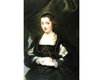 VRU131 Peter Paul Rubens - Portrét mladé ženy