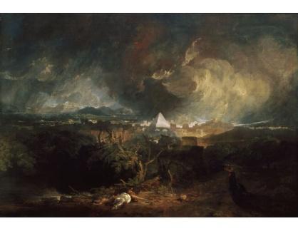 Joseph Mallord William Turner - Morová epidemie v Egyptě