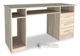 OFFICE II, pracovní stůl, dub sonoma