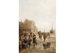 D-9061 Emil Barbarini - Život v rybářské vesnici