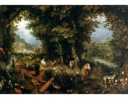 BRG-110 Jan Brueghel - Zemský ráj