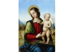 KO V-211 Raffael Santi - Madonna s dítětem v krajině