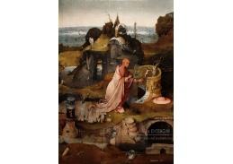 D-6325 Hieronymus Bosch - Triptych svatých, střední panel