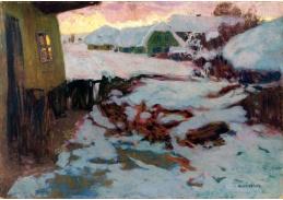 D-8455 Alois Kalvoda - Zimní krajina