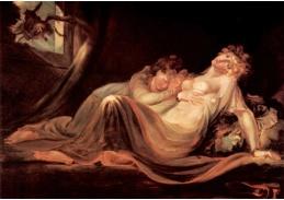 VSO 632 Johann Heinrich Füssli - Noční můra ve spaní dvou dívek