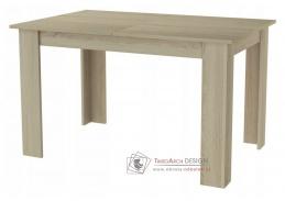 KONGO, jídelní rozkládací stůl 120-170x80cm, dub sonoma
