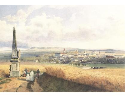 VALT 54 Rudolf von Alt - Pohled na Kroměříž