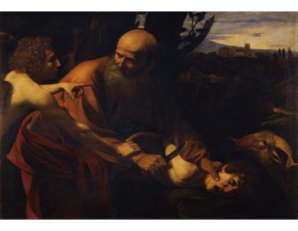 VCAR 03 Caravaggio - Obětování Izáka