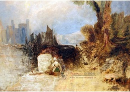 D-6243 Joseph Mallord William Turner - Hrad Carnaevon