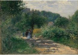 DDSO-2215 Pierre-Auguste Renoir - Cesta do Louveciennes
