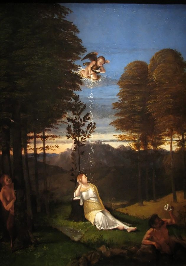 VLL 23 Lorenzo Lotto - Alegorie cudnosti