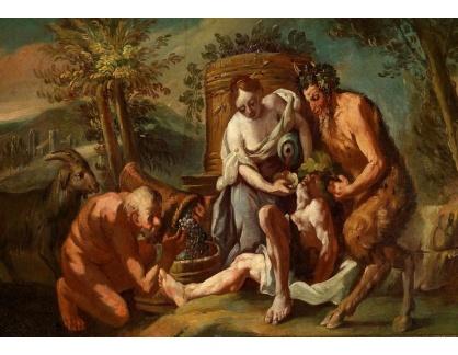 Krásné obrazy IV-493 Neznámý autor - Bacchanalie