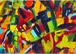 Obraz Vasilij Kandinskij VVK 25
