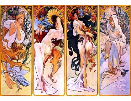 VAM37 Alfons Mucha - Čtvero ročních období