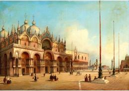 D-9307 Carlo Grubas - Piazza San Marco v Benátkách