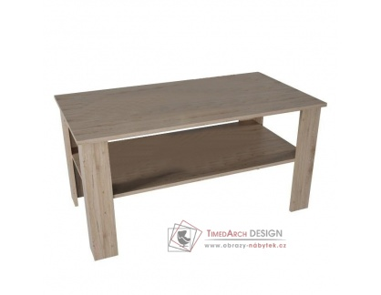 GAUDI, konferenční stolek, dub san remo