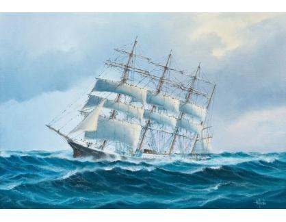 VL260 Hakan Sjostrom - Loď pod plachtami