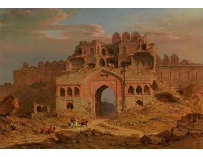 Slavné obrazy XIV-75 Robert Smith - Purana Qila, Delhi