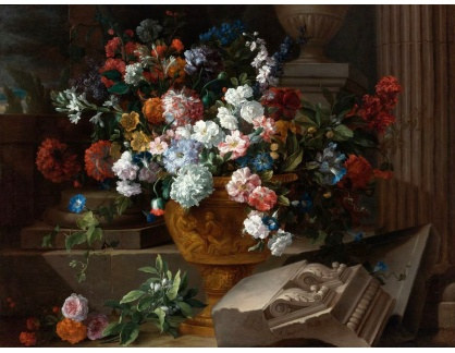 KO III-299 Neznámý autor - Zátiší s květinami
