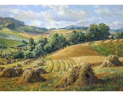 Krásné obrazy IV-28 James McIntosh Patrick - Sklízeň
