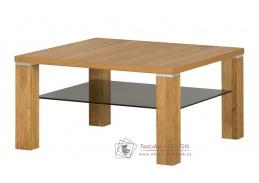 Konferenční stolek 90x90x48cm TORINO 39 zlatý dub