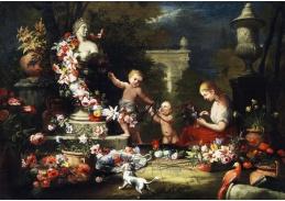 BRG-1 Abraham Brueghel - Květinová oběť bohyni Venuši