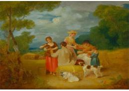 Slavné obrazy III-18 Francis Wheatley - Poledne