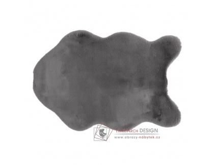RABIT 3, umělá kožešina 60x90cm, šedá