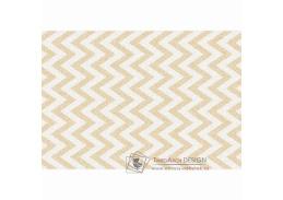ADISA 2, koberec 100x150cm, béžovo-bílá vzor