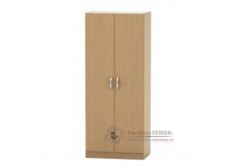 BETTY 2 BE02-003-00, šatní skříň 2-dveřová, buk
