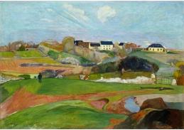 D-7542 Paul Gauguin - Krajina v Le Pouldu