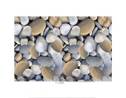 BESS, koberec 80x120cm, vzor kameny