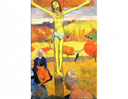 R9-1 Paul Gauguin - Žlutý Kristus