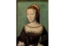 PORT-103 Corneille de Lyon - Portrét Anne de Pisseleu