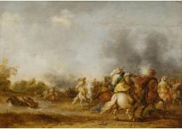 D-5994 Palamedes Palamedesz - Jezdecká bitva