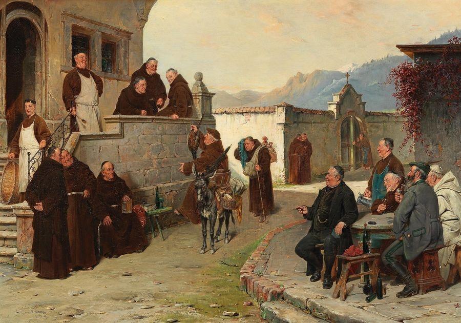 DDSO-1471 Adolf Humborg - Příchod do kláštera