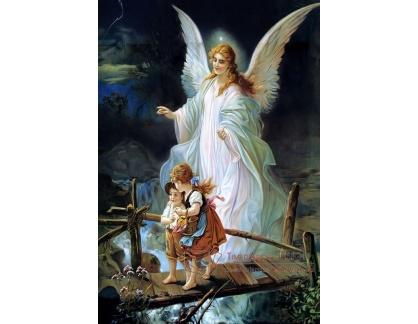 Slavné obrazy VII-126 Heilige Lindberg - Anděl strážný