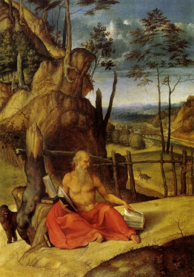 VLL 18 Lorenzo Lotto - Svatý Jeroným v pouští
