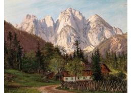A-1032 Alois Kirnig - Gosauschmiede s Donnerkogelem