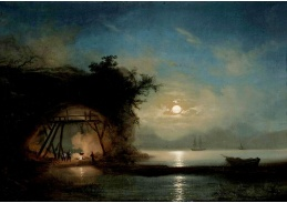 DDSO-3625 Ivan Konstantinovič Ajvazovskij - Měsíčná noc